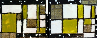 A Little Square (diptych)