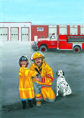 F is for Firefighters