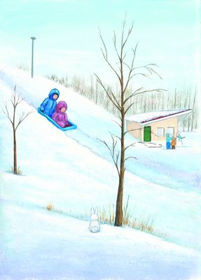 T is for Tobogganing